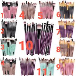 Kit 15 brochas varios colores
