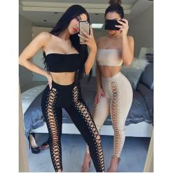 Sexy conjunto top+pantalón...