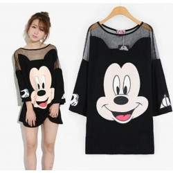 Top vestido Mickey Mousse