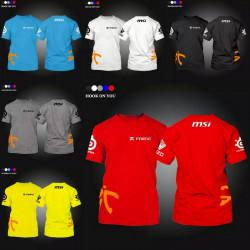 Camisetas equipo fnatic...