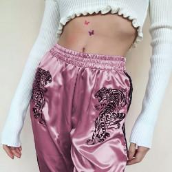 Pantalón chándal tigres rosa