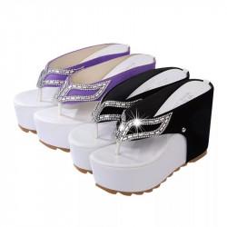 Flatform sandalias...