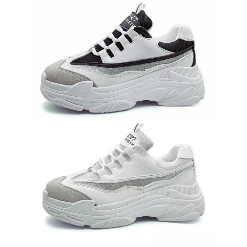 2c1bfcff8c2 Bambas brillo zapatillas plataforma unisex