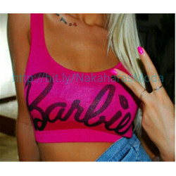 Crop top Barbie