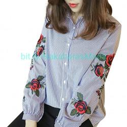 Blusa bordado flores