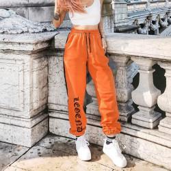 Pantalón chándal naranja...