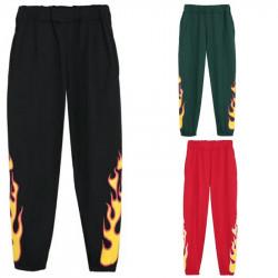 Pantalón chándal fuego llamas