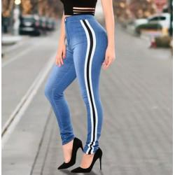 Jeans push up denim banda...
