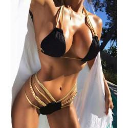 Sexy bikini dorado Marlene