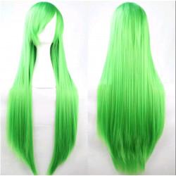 Peluca verde 80cm