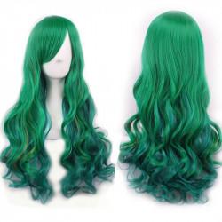 Peluca verde 70cm