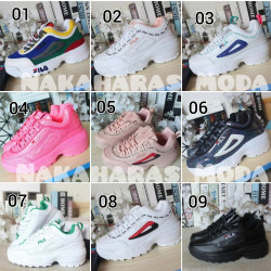 Zapatillas fila estilo
