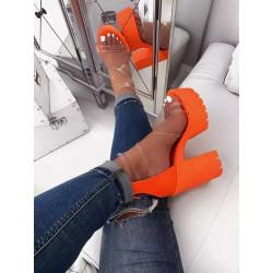 Zapatos tacon plataforma...