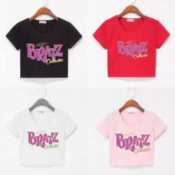 Camiseta crop Bratz