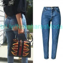 Jeans corte trasero
