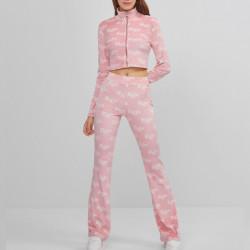 Conjunto Babe rosa