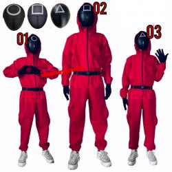 Disfraz mono rojo El juego...