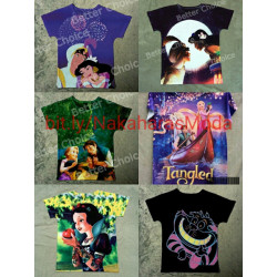 Camisetas Disney cartoons